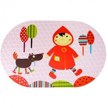 Podkładka pod talerz Czerwony Kapturek dla dzieci, Ebulobo