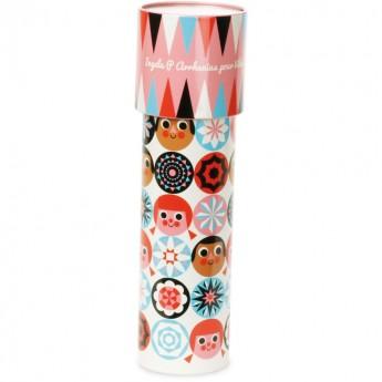 Vilac Kalejdoskop różowy zabawka dla dzieci od 3 lat