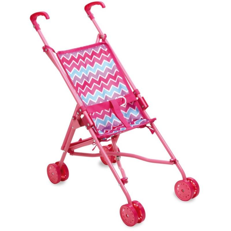 Spacerówka dla lalek wzór Zig Zag, Petitcollin