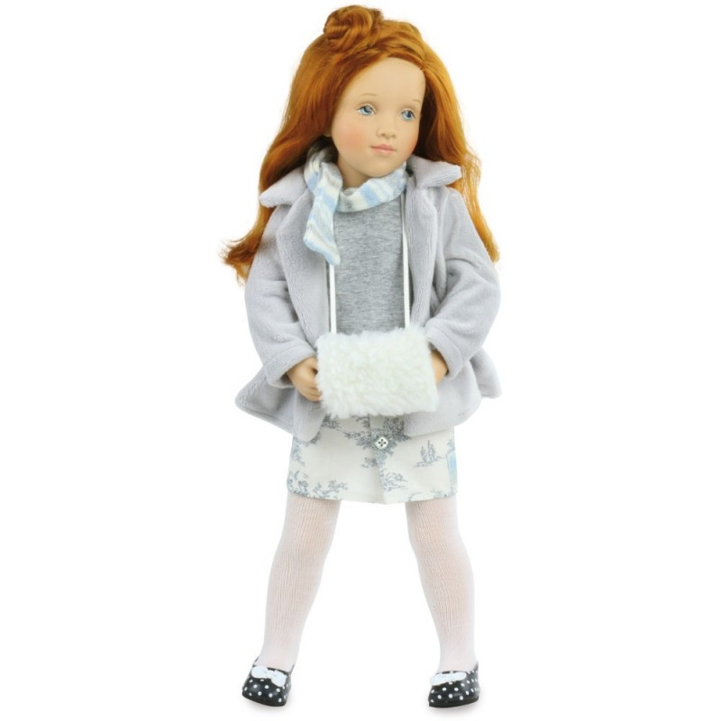 Lalka dla dziewczynek od 3 lat Tatiana 44cm by S. Natterer, Petitcollin