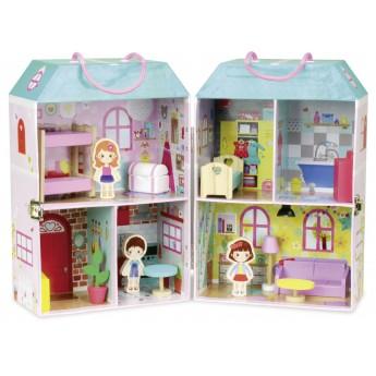 Domek z lalkami w walizce, Vilac