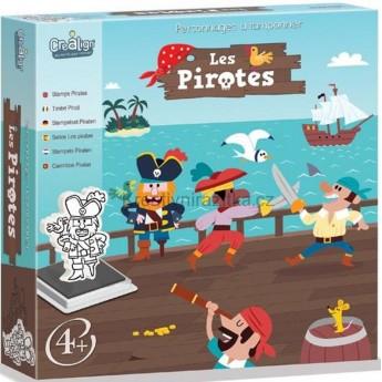 Piraci stempelki piankowe dla 4 latka, Crea Lign'