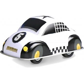 Białe autko z napędem zabawka metalowa od 3 lat, Vilac