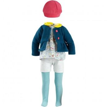 Ubranka dla lalek Finouche 48cm wzór Hannah, Petitcollin