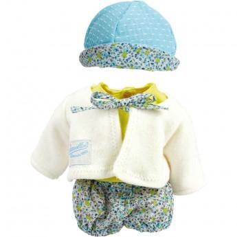 Ubranka dla lalek bobas 28-35cm wzór Plaża, Petitcollin