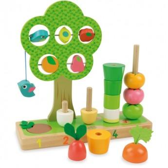 Vilac Uczę się liczyć warzywa gra edukacyjna 2469