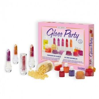 Zestaw do robienia szminek Gloss Party dla 7 latki, SentoSphere
