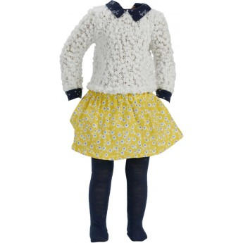 Ubrania Sarah dla lalek 44cm by S.Natterer, Petitcollin