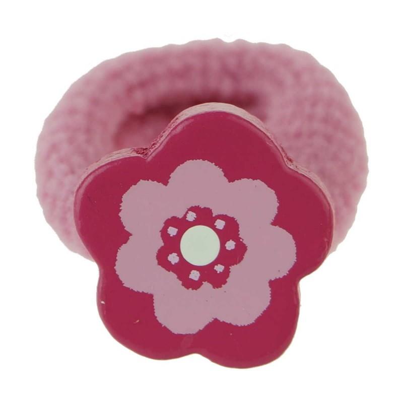 Gumka do włosów dla dzieci Kwiat z ciemnym brzegiem, Vilac