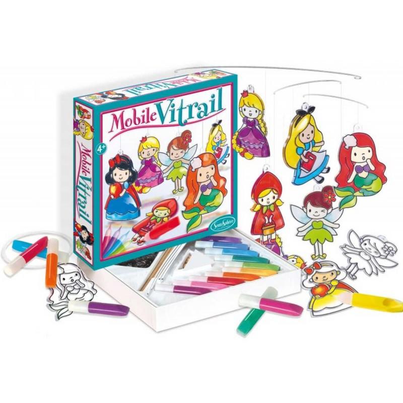Plexi witraże do robienia dla dzieci Księżniczki, SentoSphere