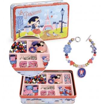 Biżuteria do robienia dla dzieci 330 elementów Paris, Vilac