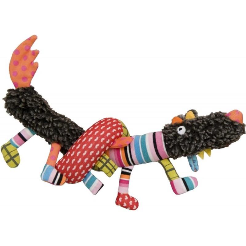 Edukacyjna zabawka 65 cm Szalony Wilk +0m, Ebulobo