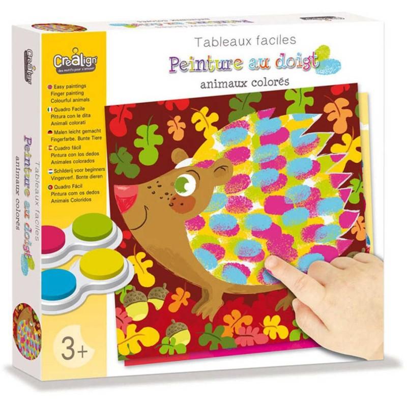 Malowanie palcami Zwierzęta zabawka plastyczna, Crea Lign'