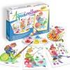 Aquarellum Krasnale 4 obrazy do malowania i farby, SentoSphere