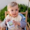 Kubek z dziubkiem dla niemowlaka Happy Farm Vintage, Ebulobo