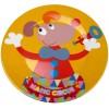 Talerzyk dla dziecka Magic Circus płaski 20 cm, Ebulobo