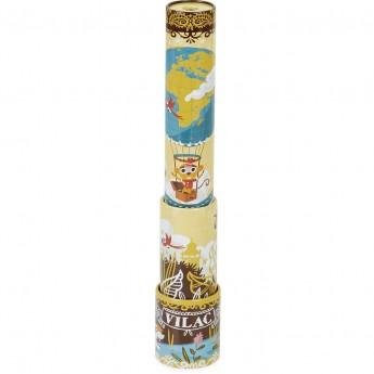 Luneta Pirata żółta metalowa zabawka dla dzieci +3, Vilac