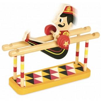Vilac Akrobata na poręczach zabawka drewniana od 3 lat