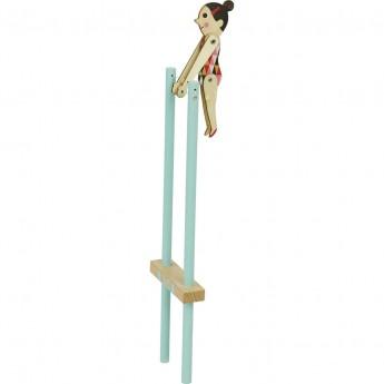Vilac Akrobatka cyrkowa zabawka +3 kolor błękitny