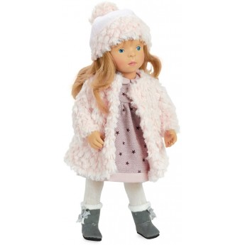 Lalka dla dzieci blondynka Eline 34cm -S. Natterer, Petitcollin