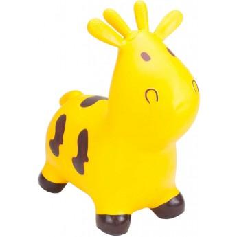 Skoczek gumowy Krowa Żółta dla dzieci +12mc rozm. S/M, Happy Hopperz
