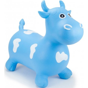 Skoczek gumowy Byk Niebieski dla dzieci rozm. M/L, Happy Hopperz