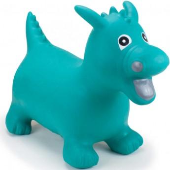 Skoczek gumowy Smok Zielony dla dzieci rozm. M/L, Happy Hopperz