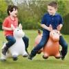 Skoczek gumowy Koń Brązowy XL dla dzieci od 5 lat, Happy Hopperz