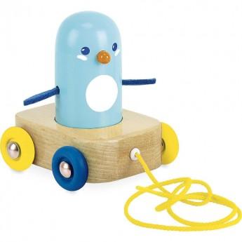 Vilac pingwin drewniany do ciągnięcia