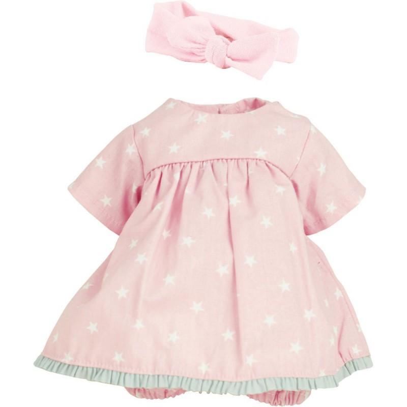 Ubranka dla lalek bobas 28cm wzór Celia, Petitcollin