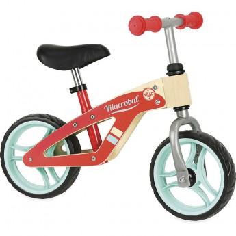 Rowerek biegowy drewniany Vilacrobat' One dla dzieci +3, Vilac