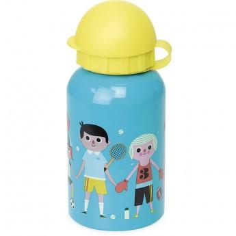 Bidon aluminiowy niebiesko-żółty dla dzieci by I.Arrhenius, Vilac