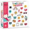 Zestaw kreatywny Emotikony stempelki dla dzieci, Crea Lign'