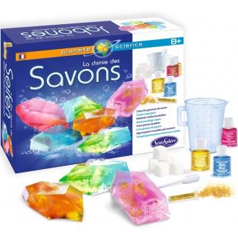 Zestaw naukowy do robienia mydełek dla dzieci +8 SentoSphere