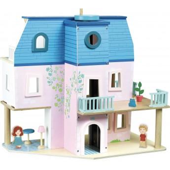 Drewniany domek dla lalek, Vilac