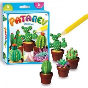 Kaktusy z masy plastycznej Patarev do samodzielnego zrobienia, SentoSphere