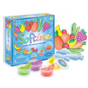 Owoce i Warzywa do robienia z masy plastycznej Softine +3, SentoSphere