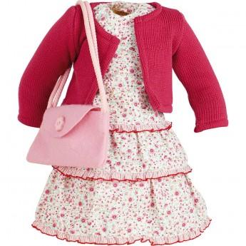 Komplet ubranek Emma dla lalek 44cm, Petitcollin