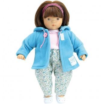 Lalka dla dzieci Lou brunetka 27cm by S. Natterer, Petitcollin