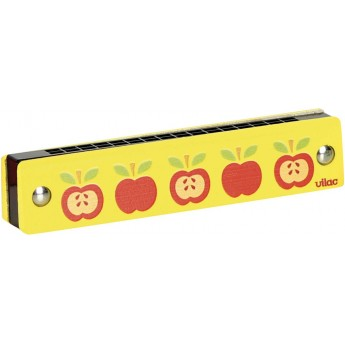 Harmonijka ustna jabłka, Vilac
