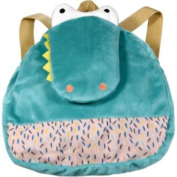Plecaczek pluszowy Krokodyl dla dzieci od 12 mc, Ebulobo