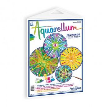 Mandala Afrykańskie plansze do Aquarellum, SentoSphere