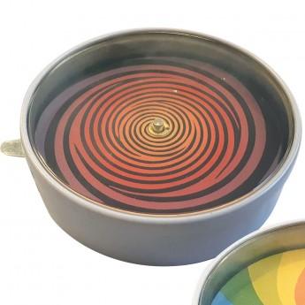 Iluzje optyczne wzór 1 zabawka metalowa, Vilac