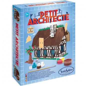 SentoSphere Mały Architekt zestaw do robienia domku wiejskiego +7
