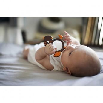 Ebulobo gryzak silikonowy dla niemowląt Szalony Wilk