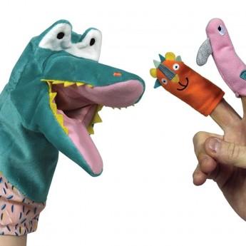 Ebulobo Pacynka na rękę Krokodyl