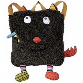 Plecak pluszowy Szalony Wilk dla dzieci od 12 mc, Ebulobo