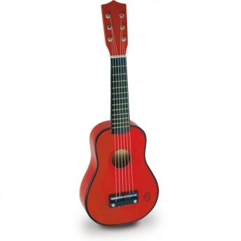 Vilac Gitara Czerwona drewniana 8306