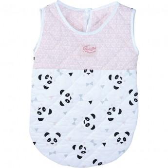 Petitcollin Śpiworek Panda dla lalek bobasów zabawka od 18 mc