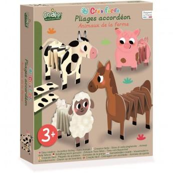 Farma papierowe zwierzęta do składania CL171